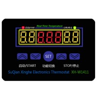 XH-W1411 DC12V 10A LED Digital Temperature Controller Thermometer Control Switch Sensor -19 to 99 C