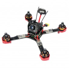 DALRC XR220 4-Axis Carbon Fiber Quadcopter Frame with 5V 12V 3A PDB & LED Board for FPV