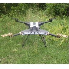 UAV H4 680 Daya Folding 4-Axis Carbon Fiber Quadcopter Frame w/Landing Gear for FPV