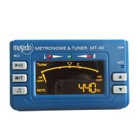 Musedo MT-40 3 in 1 Metronome + Tuner + Tone Generator for Guitar Bass Violin Ukulele-Blue
