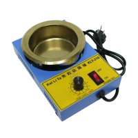 KLT-380 80mm 220V 250W Lead Free Solder Pot Titanium Alloy Soldering Melting Tin Boiler