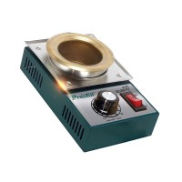 300W 2.2kg Stainless Steel Solder Pot Titanium Plating Station Welding Repair Tool Molten Tin Crucible Furnace