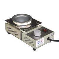 POT-98CT 150W Solder Pot Titanium Plating Station Welding Repair Tool Molten Tin Crucible Furnace