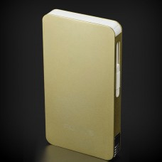 Focus Ultra-Thin Cigarette Case Automatic Flip Box with Lighter for 6pcs Cigarettes Smoking