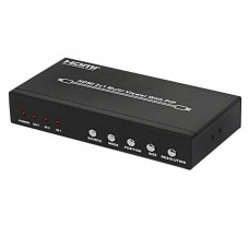 HDS-821P 2x1 HDMI Splitter Video Audio Division Multi-Viewer w/PIP Two Input One output HDMI Port for PC DVD Player to HDTV