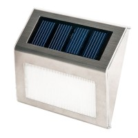 LED Solar Power Wall Mount Garden Light for Path Landscape Fence Lamp Outdoor