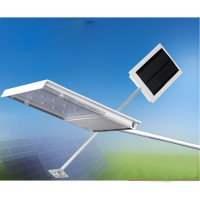Solar Powered 12-LED Outdoor Waterproof Lamp Dusk-to-Dawn Sensor Security Flood Wall Light