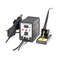 YiHua-8786D 750W 2 in 1 LED Hot Air Gun Soldering Station SMD Rework Station Electric Soldering Iron