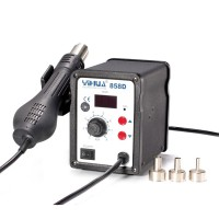 YIHUA-858D 700W LED Hot Air Gun Soldering Station SMD Rework Station Electric Soldering Iron