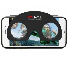 Folding 3D Glasses VR Cat Phone Case Box Virtual Reality Goggles VR 3D Games for iPhones 6