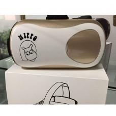 VR BOX Virtual Reality 3D Glasses Video Glasses Helmet for 4.7-6.1 inch Smart Phone-Gold