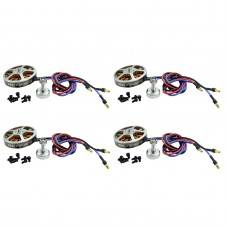 RCtimer 5010-530kv Disc Professional Brushless Motor for Quadcopter Multirotor 4-Pack