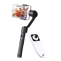 Zhiyun Smooth II 2 3-Axis Brushless Handheld Gimbal Handle PTZ Stabilizer w/Remote Controller for Camera Smartphone