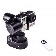 Zhiyun Brussless Z1-Rider-M Wireless Remote Control Handheld 3-Axis Camera Gimbal PTZ Stablizer for Gopro