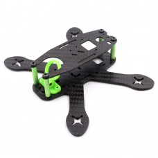 GEP130X 130mm 4-Axis 3K Carbon Fiber Racing Quadcopter Frame w/PDB BEC for FPV