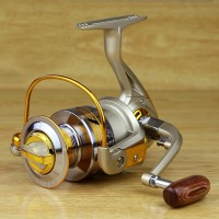 Ratio 10 Speed 5.5:15.5:1 Aluminum Spool Spinning Reel 10BB EF3000 Series Fishing Reel