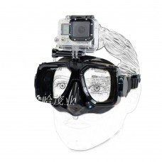 Dive Snorkel Diving Mask Swimming Goggles Tempered Glasses for Gopro Hero 3+ 4 Action Camera
