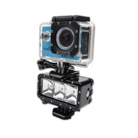 Gopro Light Underwater Diving LED Flash Light Lamp Mount Monopod for GoPro Hero 4 Session 4 3 3+ Xiaomi Yi