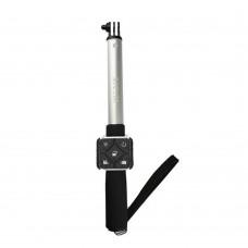 SJCAM Aluminum Selfie Stick with Remote Controller Set for SJCAM M20 Action Camera-Silver