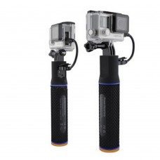 Power Handle Grip Charging Selfie Stick Monopod Mount Adapter for Gopro Hero 4 Session