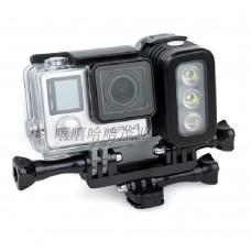 Strong LED Fill Light Flash for Camera Gopro 3+ 3 Hero4 Session Sj4000 Sj5000 Sj6000 Xiaomi Yi