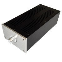 Audio Amplifier Chassis Shell Case Enclosure Box Aluminum 310x148x92mm WA46