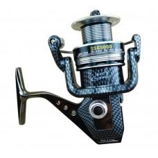 4.7:1 13BB Fishing Reel Seamless Metal Fishing Tackle Spinning Carp Bass Sea Fishing Reel SSG 6000