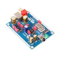 PCM2706 DAC USB Sound Card USB to I2S DAC Decoder Board for Headphone Amplifier DIY Kits Unassembled