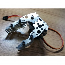 Robotic Claw Gripper Metal Robot Mechanical Claw + Servo for DIY Robot Tank Car CL-4