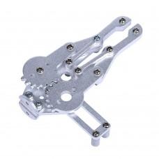 Robot 2DOF Aluminium Clamp Claw Gripper Mount Kit w/MG996R Servo for Arduino