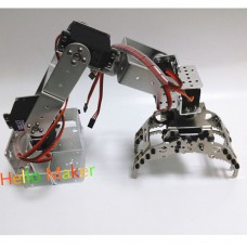 6 DOF Robot Mechanical Arm Clamp Metal Claw w/Servo DS3218 for Arduino DIY Unassembled CL-6