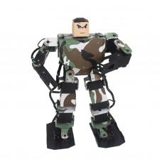 Soldier King 16DOF Smart Humanoid Robot Frame Contest Dance Biped Robotics for DIY