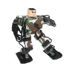 Soldier King 16DOF Smart Humanoid Robot Frame Contest Dance Biped Robotics w/Servo for DIY Assembled
