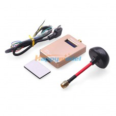 FPV 5.8G 40CH Reciever Video Wireless Rx with Antenna for Photography Multicopter VMR40