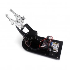 3DOF Robot Mechanical Arm Claw Frame with Base for Education Teaching DIY