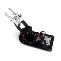 3DOF Robot Mechanical Arm Claw Frame with Servo MG1501 for Education Teaching DIY