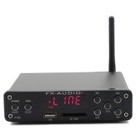 HIFI Amplifier Digital Bluetooth 4.0 Audio AMP 160W+160W Support U-Disk SD APE FX M-160E-Black