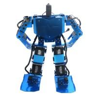 Blue 17DOF Robo-Soul H3.0 Biped Robtic Two-Legged Human Robot Aluminum Frame Kit w/17pcs Servo