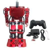 Red 17DOF Robo-Soul H3.0 Biped Robotics Humanoid Robot Aluminum Frame Full Kit w/17pcs Servo + Controller