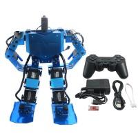 Blue 17DOF Robo-Soul H3.0 Biped Robtic Humanoid Robot Aluminum Frame Full Kit w/17pcs Servo + Controller