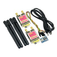 RDF900 915Mhz Long Range Radio Modem Remote 900 Data Transceiver for RC Aircraft Multicopter