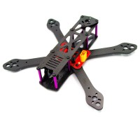 Reptile-Martian 190mm 4-Axis Carbon Fiber Quadcopter Frame 4mm Arm with Power Distribution Board for FPV Upgraded Version