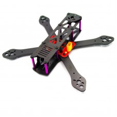 Reptile-Martian 250mm 4-Axis Carbon Fiber Quadcopter Frame 4mm Arm with Power Distribution Board for FPV Upgraded Version