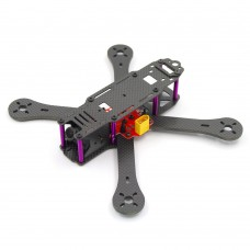 Reptile-X4R 220mm 4-Axis Carbon Fiber Quadcopter Frame 4mm Arm w/Power Distribution Board for FPV
