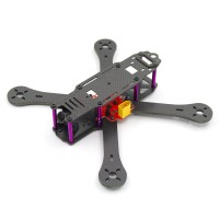 Reptile-X4R 250mm 4-Axis Carbon Fiber Quadcopter Frame 4mm Arm w/Power Distribution Board for FPV