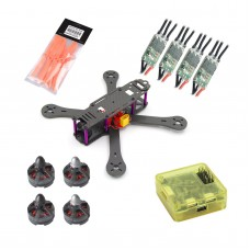 Reptile-X4R 180mm Quadcopter Arm with MT2204 Motor & CC3D Flight Controller & 4045 Propeller & Mini BLHeli 20A ESC  for FPV