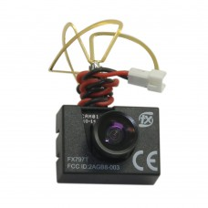 FPV 5.8G Transmitter + Camera 600TVL 120 Degree Combo 25mW 40 Channels Tx with Antenna FX797T