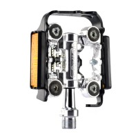 MTB Road Bike Bicycle Cycling Pedals Seald Bearing Clipless Pedal WELLGO M17C