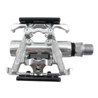 MTB Road Bike Bicycle Cycling Pedals Double Faced Bearing Pedal WELLGO C099B