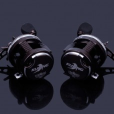 Left-Hand Lure Fishing Reel Super Strong Pull Tornado Drum 10+1 Bearing Fishing Tackle 2000 Series